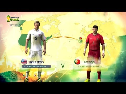 USA v Portugal: World Cup simulator