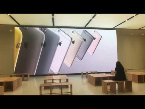 Apple Store Dubai  Digital Display Content