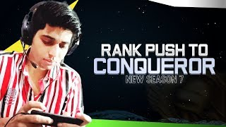 PUBG MOBILE LITE LIVE STREAM | SEASON 7 CONQUEROR GAME PLAY