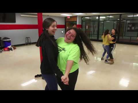 Latin dancing at Mundelein High