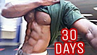 Deadly 30 Day Ab Workout (No Excuses)