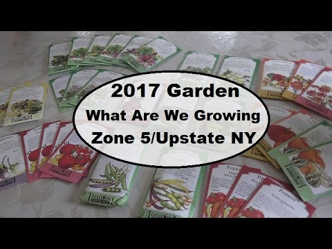 Zone 5 Gardening Plans For 2017 | What Are We Growing For Our Large Family?