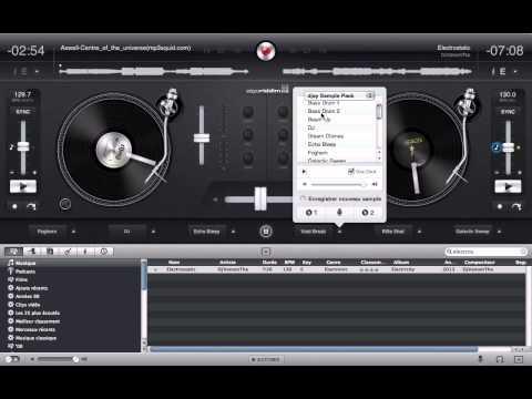 Vidéo découverte du logiciel de mixage - DJay l DVT