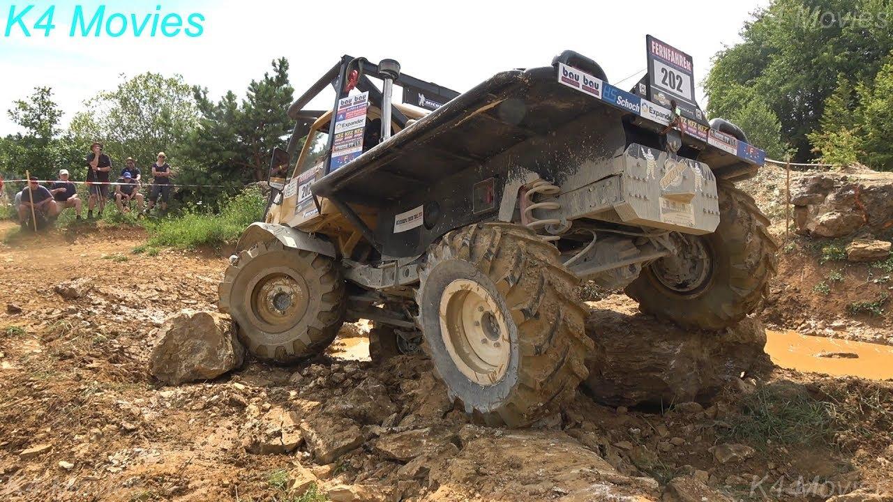 4x4 Trucks in Europe Truck Trial |  Langenaltheim Germany 2018