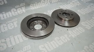 Тормозные диски передние BREMBO R13 ВАЗ 2110