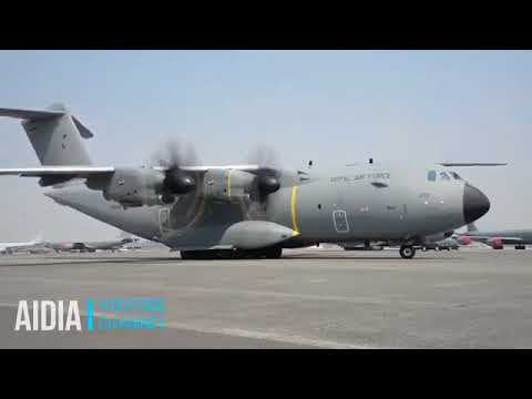 Military Transport Aircraft Royal Air Force Airbus A400M Atlas