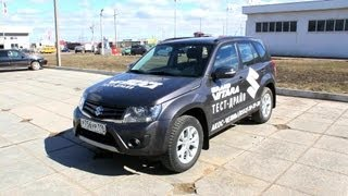 2012 Suzuki Grand Vitara. Start Up, Engine, and In Depth Tour.