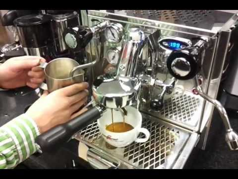 Izzo Alex Duetto Ii Espresso Machine First Review Youtube