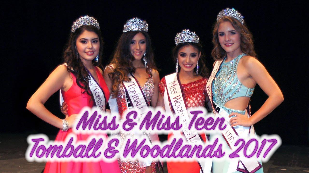 Resumen de Miss & Miss Teen Tomball and Woodlands Latina 2017