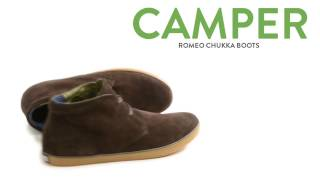 Camper Romeo Chukka Boots - Suede (For Men)