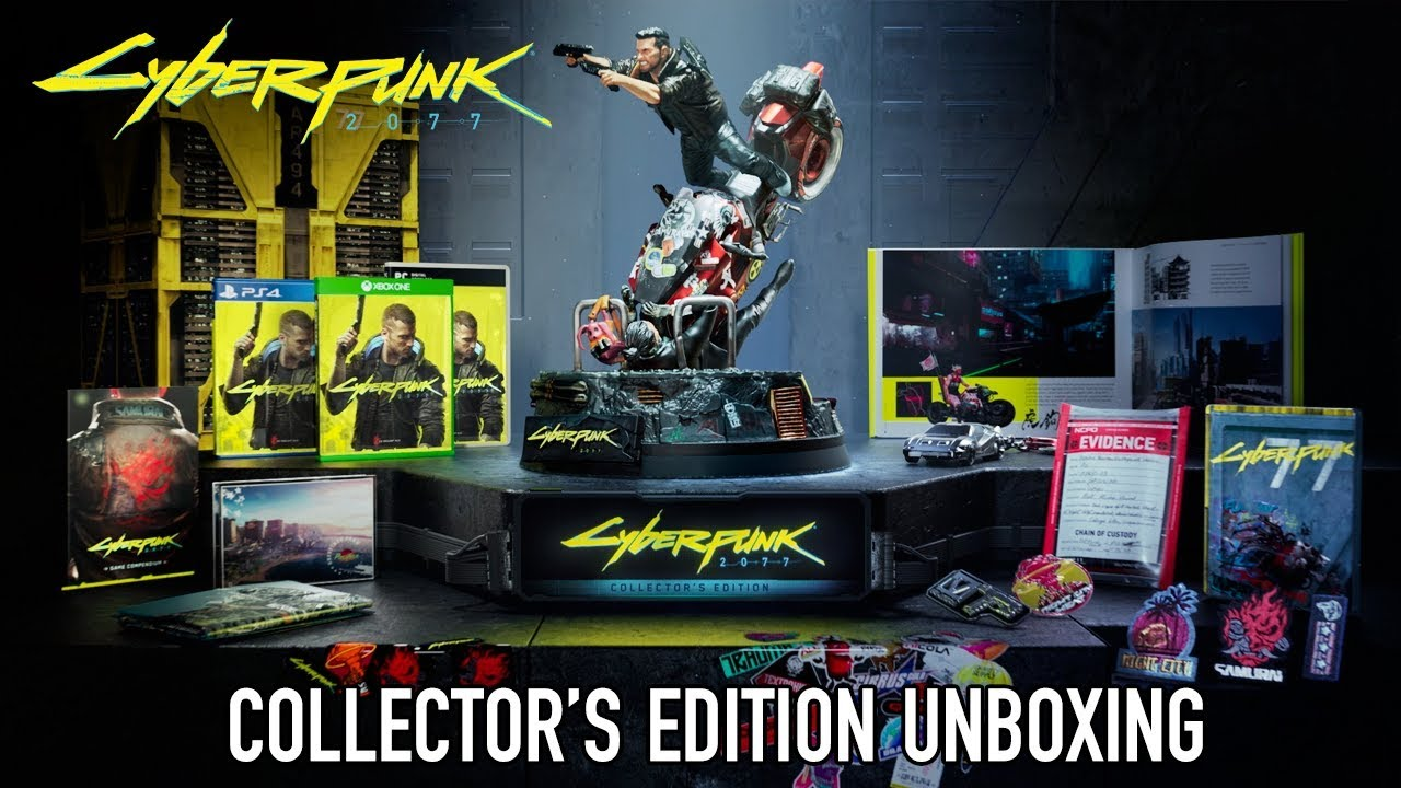 Cyberpunk 2077 - Collector's Edition Unboxing Video