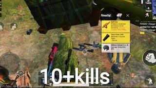10+ kills. Solo Vs squad gameplay. Pubg mobile.  Gaming Point