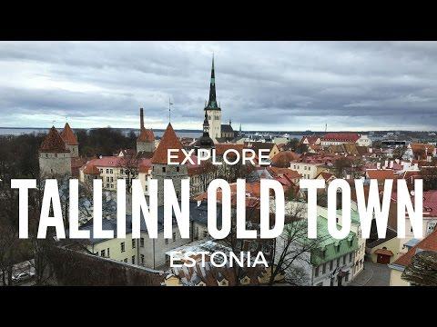 Exploring Old Town Tallinn Estonia