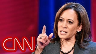Kamala Harris defends her record on criminal justice