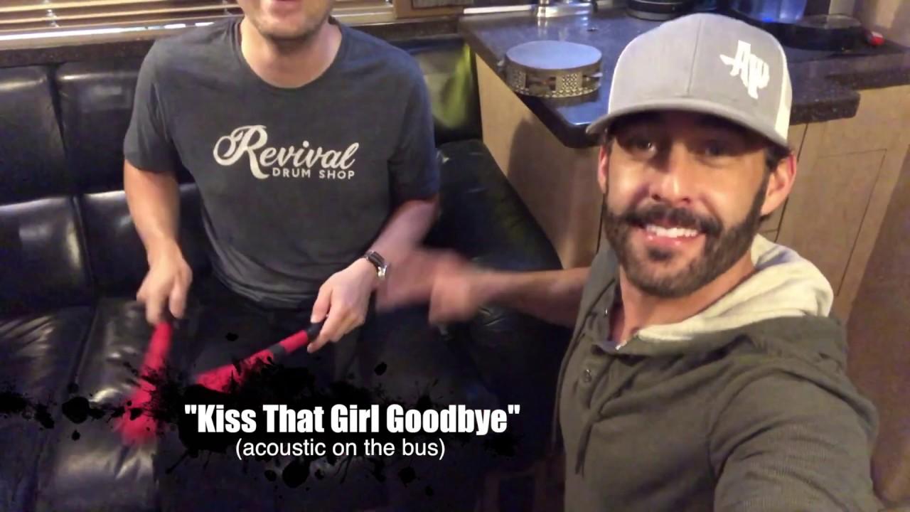 Aaron Watson - Kiss That Girl Goodbye (Acoustic/Bus Cam)