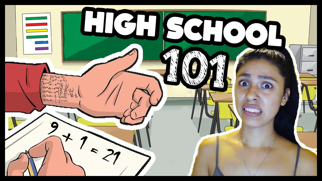HOW TO CHEAT ON EXAMS! - High School 101 - YouTube