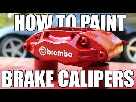 Thumbnail: How to PROPERLY Paint Your Brake Calipers
