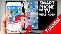 Handy mit Fernseher verbinden | Smartphone mit TV verbinden | Tutorial deutsch 2020 ✅