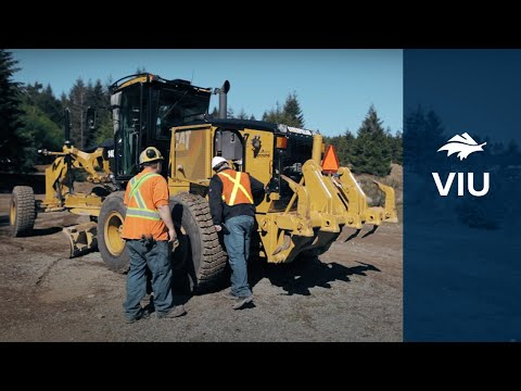 Heavy Equipment Operator Program At Vancouver Island University