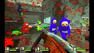 Left 4 Dead 2 Teletubbies Mod Gameplay | Max Settings