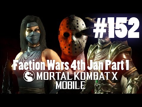 Faction Wars 4th Jan Part 1! - Mortal Kombat X Mobile Gamepl