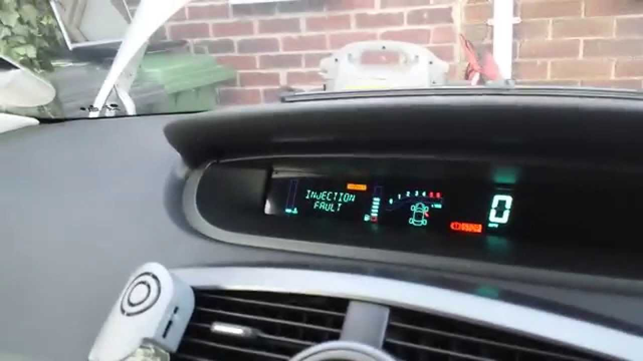 renault scenic 1 9 dci diesel pressure sensor test youtube. Black Bedroom Furniture Sets. Home Design Ideas
