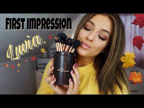First Impression: Luvia Cosmetics (ich teste neue Make-Up Produkte) I MeDelia