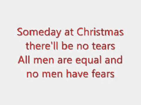 Someday At Christmas Lyrics.Justin Bieber Someday At Christmas Karaoke Lyrics On Screen