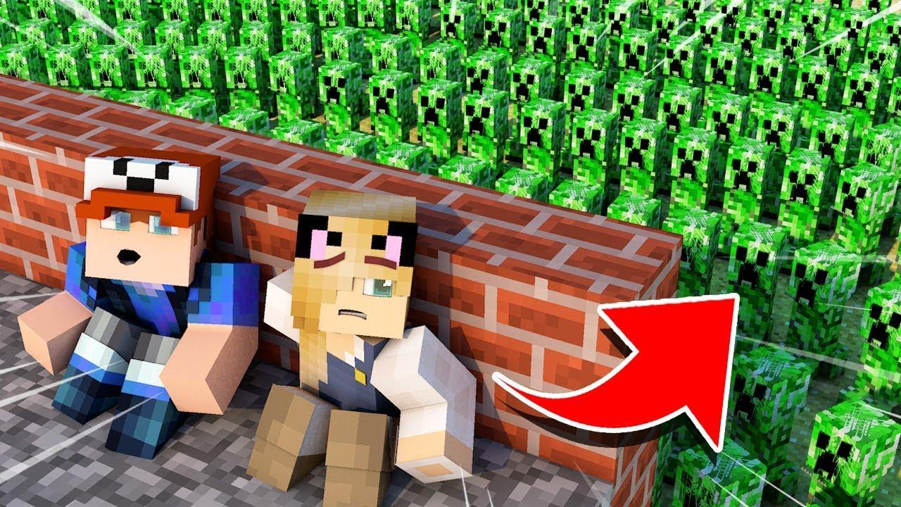 Baza Vs Apokalipsa Creeperow W Minecraft Vito I Bella Youtube