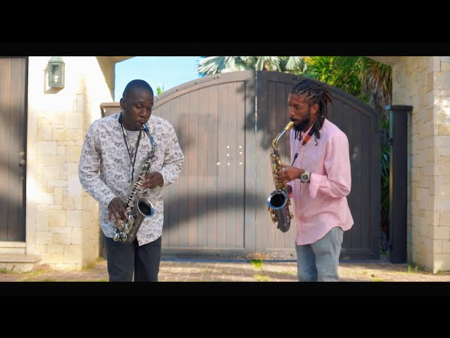 I Give Myself Away Saxophone Cover by Bradly & David