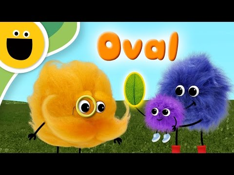 Oval | Words with Puffballs (Sesame Studios)