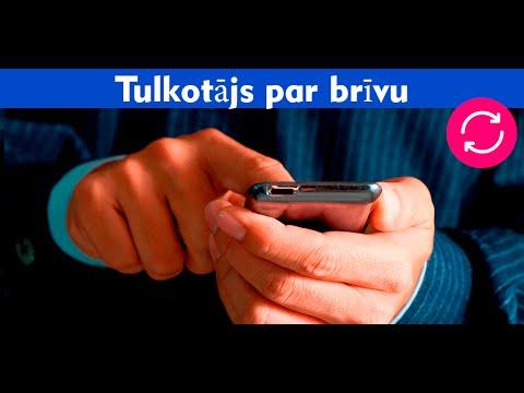 Tulkotājs par brīvu Android (LV) from YouTube · Duration:  34 seconds