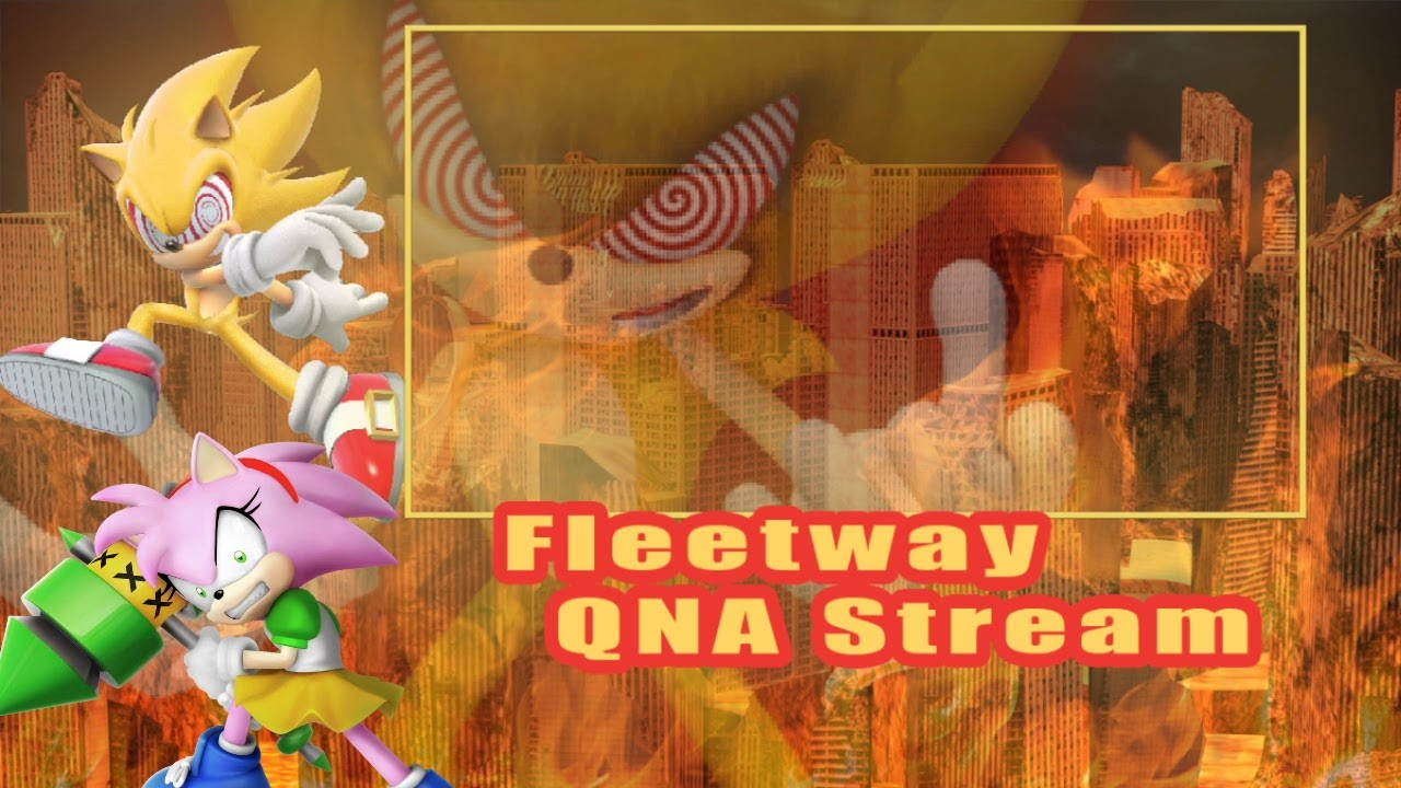 FLEETWAY AND ROSY Q&A LIVESTREAM STICK FIGHT!