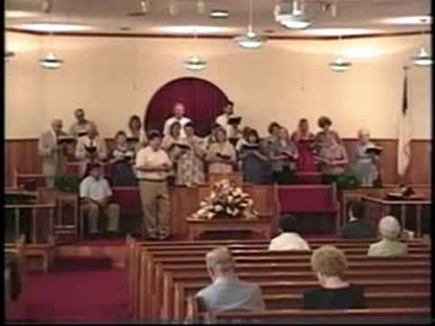 """Glad Reunion Day"" Mount Carmel Baptist Church Choir, Fort Payne Alabama"
