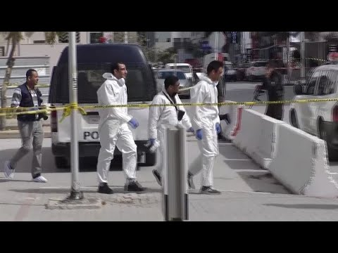 Suicide bombing kills police officer outside US embassy in Tunisia