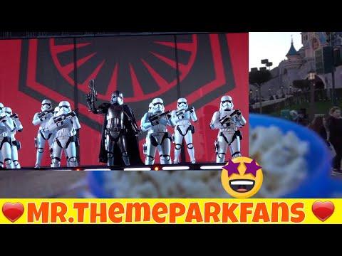 Popcorn time Star Wars show Big Thunder Mountain in the dark Disneyland paris vlog 17-02-2018 part 4