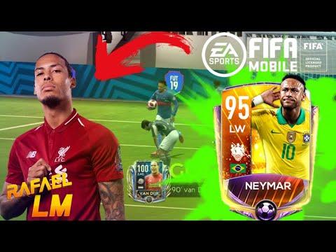 FIFA MOBILE TESTANDO O TIME PRO FIFA 20 MOBILE