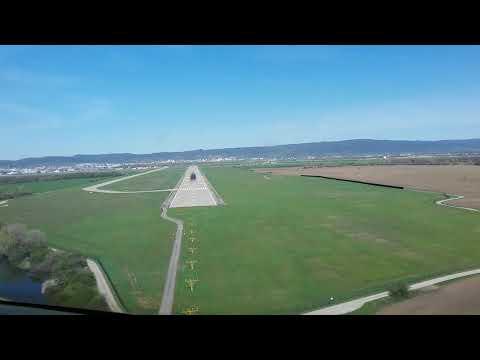 GEORGIAN AIRWAYS CRJ-200.LAND TO BRATISLAVA .STEFANIC AIRPORT