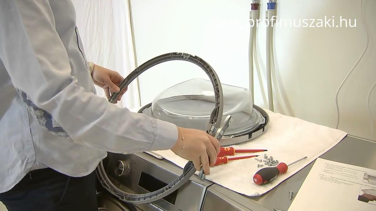 Mypro türanschlag beim wäschetrockner wechseln youtube