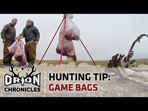 Hunting Tip | How to Choose the Right Game Bags for the Backcountry