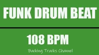 Funk Drum Beat 108 BPM