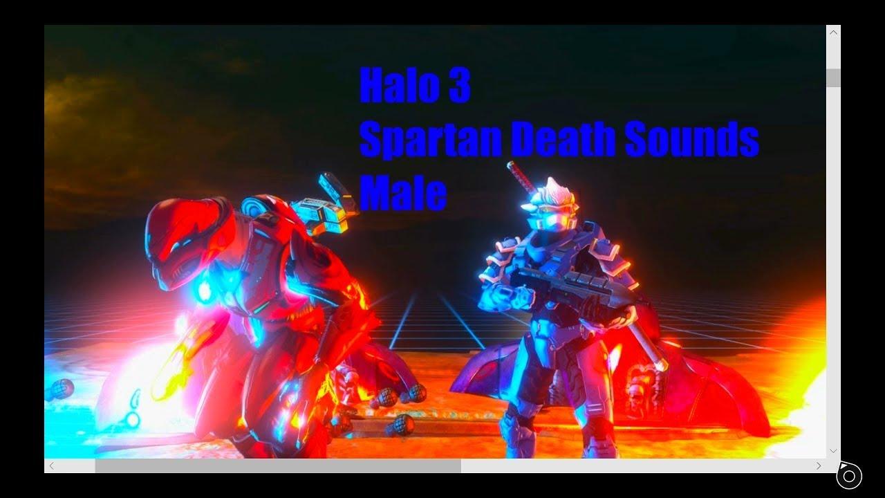 Halo 3 Spartan Death Sounds Male