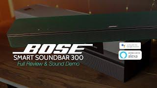 NEW Bose Smart Soundbar 300 | Full Review & Demo