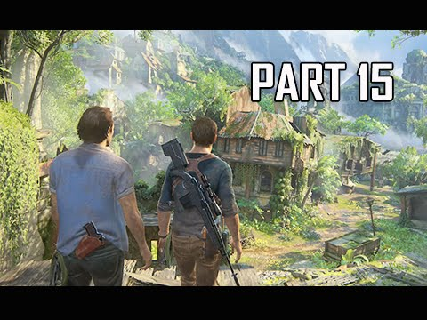Uncharted 4 A Thief's End Walkthrough Part 15 - Libertalia (Let's Play Commentary)