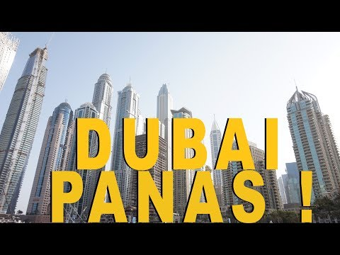 Transit 18 jam di Dubai - Travel vlog (Part 2)