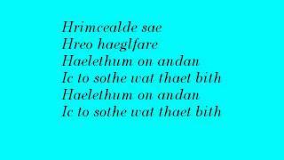 Leaves' Eyes - Sorhleod (lyrics)