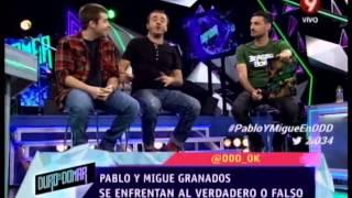 VERDADERO O FALSO - MIGUE Y PABLO GRANADOS - PRIMERA PARTE - 22-08-14