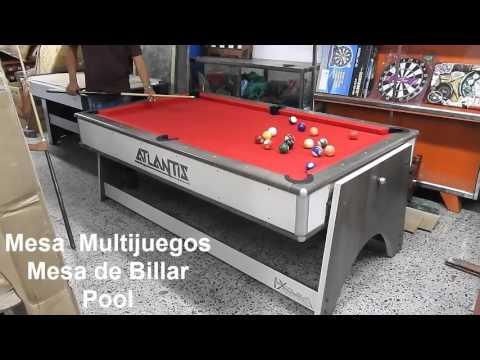Mesas de juegos 4 en 1 mesas de billar pool mesa de for Mesa billar barata
