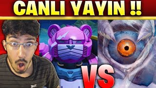 ROBOT VS CANAVAR EVENTİ !! CANLI YAYIN !! ( Fortnite Battle Royale Türkçe )