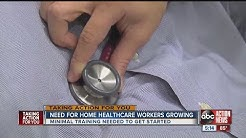 Growing need for home health care workers in Tampa